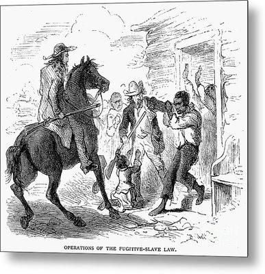 Fugitive Slave Act, 1850 Metal Print by Granger