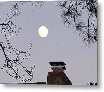 Full Moon Metal Print by Valia Bradshaw