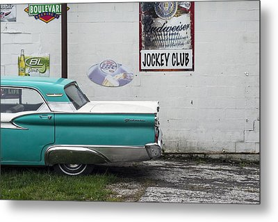 Galaxie  Metal Print by Lisa Plymell