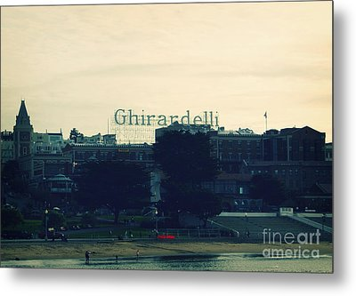 Ghirardelli Square Metal Print by Linda Woods