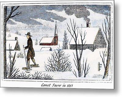 Great Snow Of 1717 Metal Print by Granger