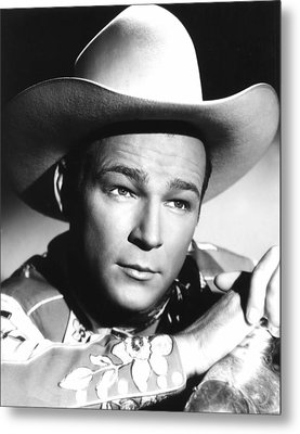 Hands Across The Border, Roy Rogers Metal Print by Everett
