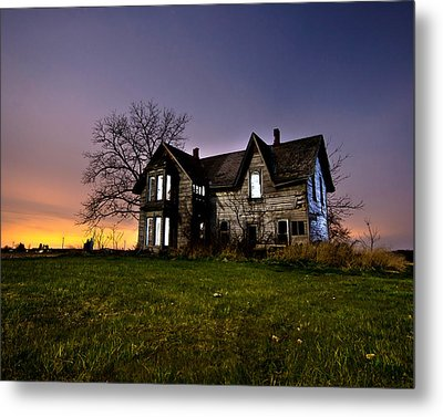 Haunted House Metal Print by Cale Best