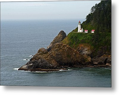 Heceta Head Lighthouse Metal Print by Jake Johnson