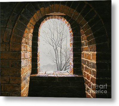 Here Now Metal Print by Lynette Cook