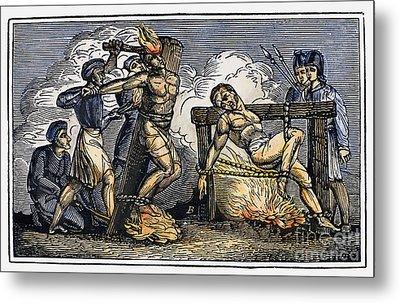 Heresy: Torture, C1550 Metal Print by Granger