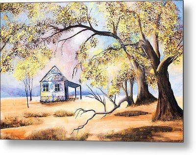 Home Home On The Range Metal Print by Coralie Smyth