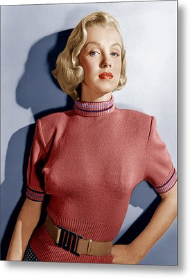 Home Town Story, Marilyn Monroe, 1951 Metal Print by Everett