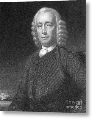 John Harrison, English Inventor Metal Print by Photo Researchers