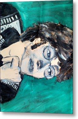 John Lennon Metal Print by Julie Butterworth
