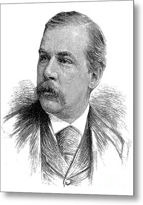 John Pierpont Morgan Metal Print by Granger