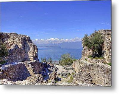 Lake Garda Metal Print by Joana Kruse