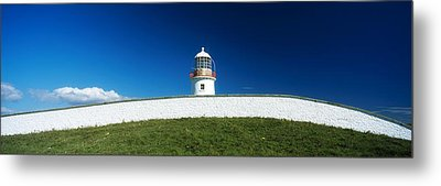 Lighthouse At St Johns Point, Donegal Metal Print by The Irish Image Collection