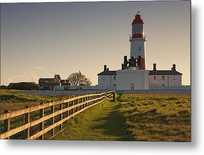 Lighthouse South Shields, Tyne And Metal Print by John Short