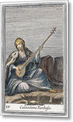 Long Lute, 1723 Metal Print by Granger