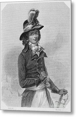 Louis Saint-just (1767-1794) Metal Print by Granger