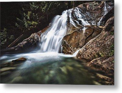 Lower Cascades Of Malachite Creek Metal Print by A A