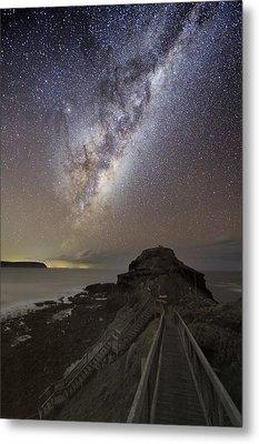 Milky Way Over Cape Schanck, Australia Metal Print by Alex Cherney, Terrastro.com