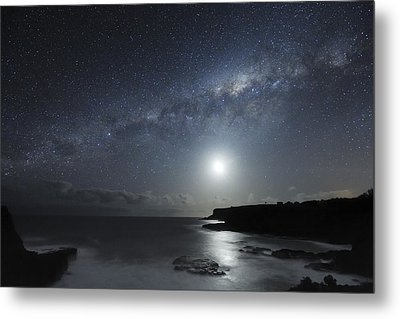 Milky Way Over Mornington Peninsula Metal Print by Alex Cherney, Terrastro.com