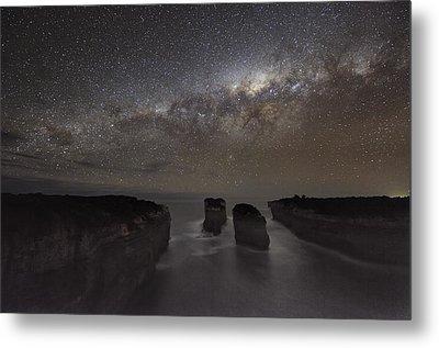 Milky Way Over Shipwreck Coast Metal Print by Alex Cherney, Terrastro.com