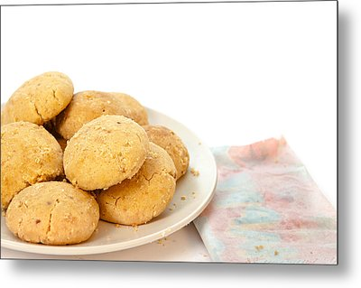 Moroccan Biscuits Metal Print by Tom Gowanlock