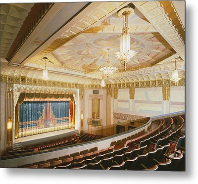 Movie Theaters, The Washoe Theater Metal Print by Everett