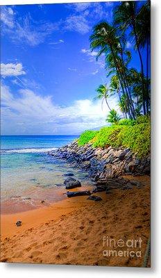 Napili Bay Maui Metal Print by Kelly Wade