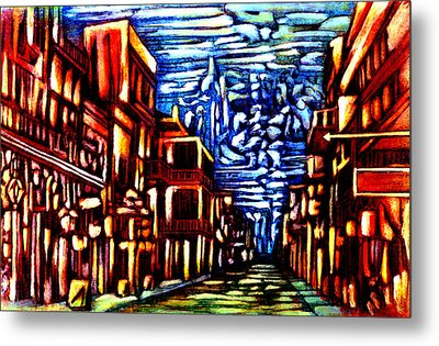 New Orleans Metal Print by Giuliano Cavallo