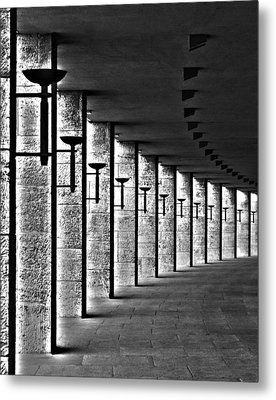 Olympic Stadium Berlin Metal Print by Juergen Weiss