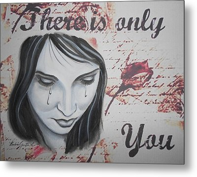 Only You Metal Print by Barbie Guitard