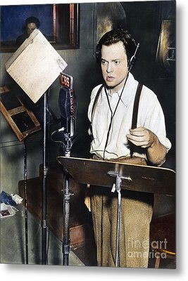 Orson Welles (1915-1985) Metal Print by Granger