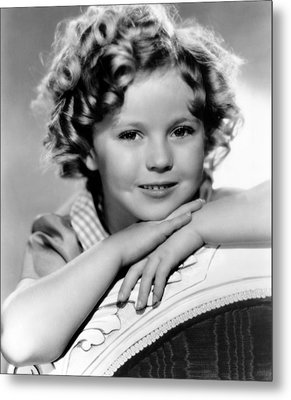 Our Little Girl, Shirley Temple, 1935 Metal Print by Everett