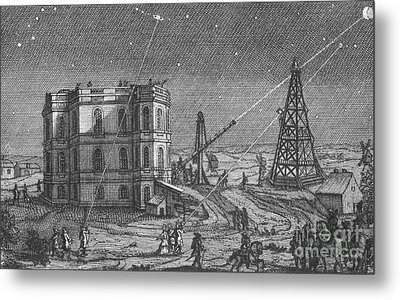 Paris Observatory, 17th Century Metal Print by Science Source