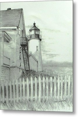 Pemaquid Lighthouse  Metal Print by Jack Skinner