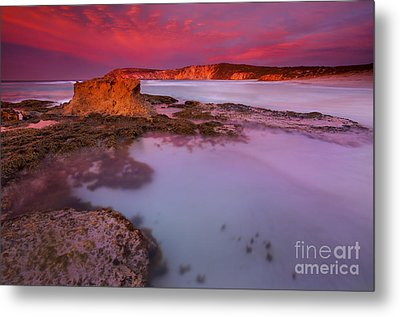 Pennington Dawn Metal Print by Mike  Dawson