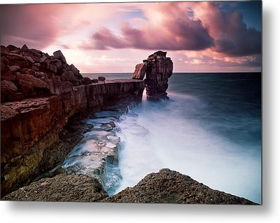 Pulpit Rock Metal Print by Nina Papiorek
