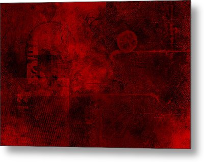 Redstone Metal Print by Christopher Gaston