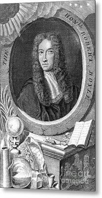Robert Boyle, British Chemist Metal Print by Science Source