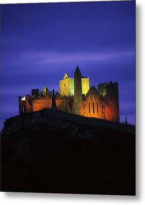 Rock Of Cashel, Co Tipperary, Ireland Metal Print by The Irish Image Collection