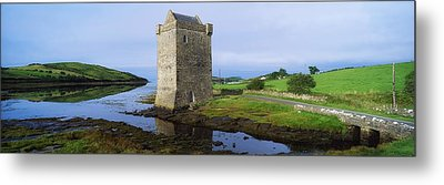 Rockfleet Castle, Clew Bay, Co Mayo Metal Print by The Irish Image Collection