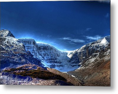 Rocky Mountains Metal Print by Dan S