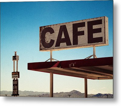 Roy's Cafe Metal Print by Aurica Voss