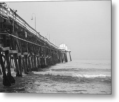 San Clemente Pier Metal Print by Ralf Kaiser