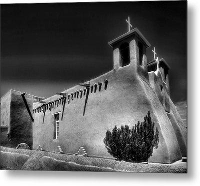 San Francisco De Asis Church Iv Metal Print by Steven Ainsworth