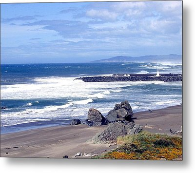 Sand And Sea 18 Metal Print by Will Borden