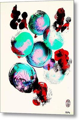 School Of Fugu's Metal Print by Roberto Prusso