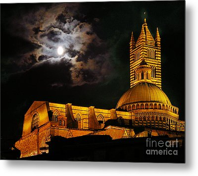 Siena Cathedral Metal Print by Jim Wright