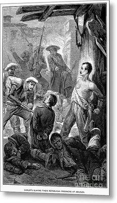 Spain: Second Carlist War Metal Print by Granger