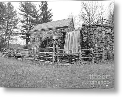 Sudbury Grist Mill  Metal Print by Catherine Reusch  Daley