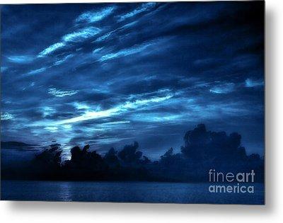 Sunrise In Blue Metal Print by Jeff Breiman